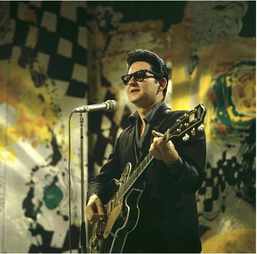 I must be one of the most unloneliest people in the world! Happy birthday Roy Orbison Photo: David Redfern