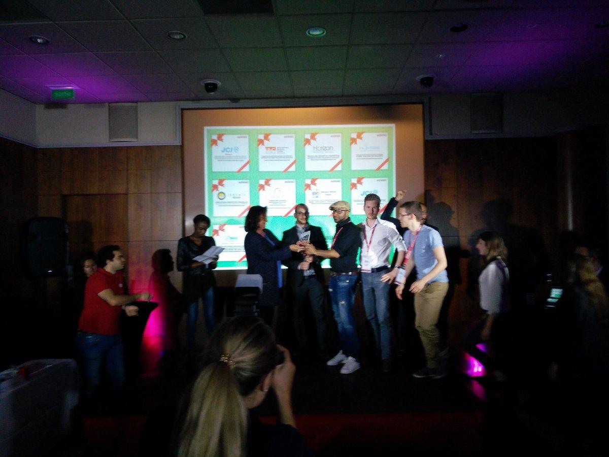 2nd Place: Share The Mic! #StartupWeekend #Monaco #SWMC #startup #vc #entrepreneurship #BTRTG<br>http://pic.twitter.com/7dCJU8SFiF