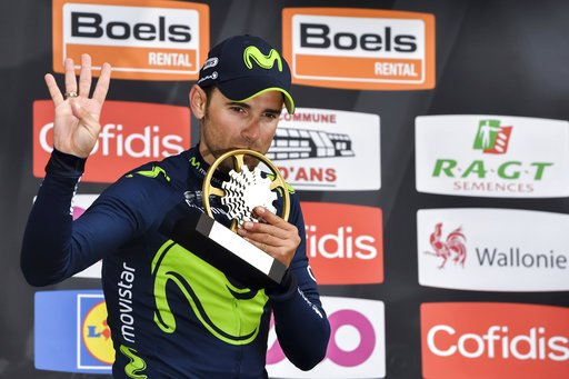 #Valverde dedicates his Liege-Bastogne-Liege win to Scarponi -  http:// panteres.com/2017/04/23/val verde-dedicates-his-liege-bastogne-liege-win-to-scarponi/ &nbsp; … <br>http://pic.twitter.com/YbgKfHyZJb