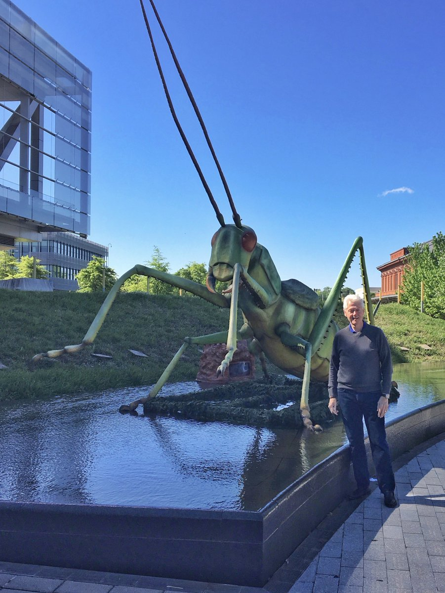 BREAKING: We just learned that the @ClintonCenter has been bugged.