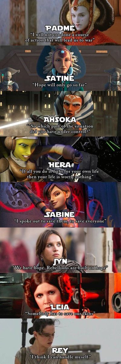 We&#39;ve always had Strong Women in #StarWars - long may it continue! <br>http://pic.twitter.com/ctNu6cjrai
