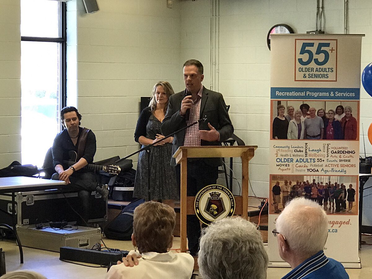 Congratulations to @townofajax on the launch of their Older Adults &amp; Seniors Recreational Services Strategy; proud to be part of today #Ajax <br>http://pic.twitter.com/L74VC6tkJr