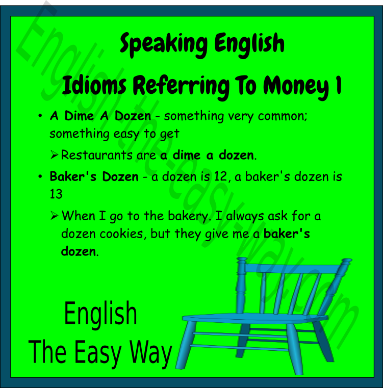 _______ are not cheap. They are not a  dime a dozen. 1. Books 2. Cars 3. Both  http:// english-the-easy-way.com/Speaking/Money _Idioms1.html &nbsp; …  #EnglishIdioms <br>http://pic.twitter.com/TbGU4zXBER