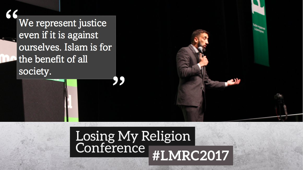 This is when Islam will win @noumanbayyinah #LMRC2017