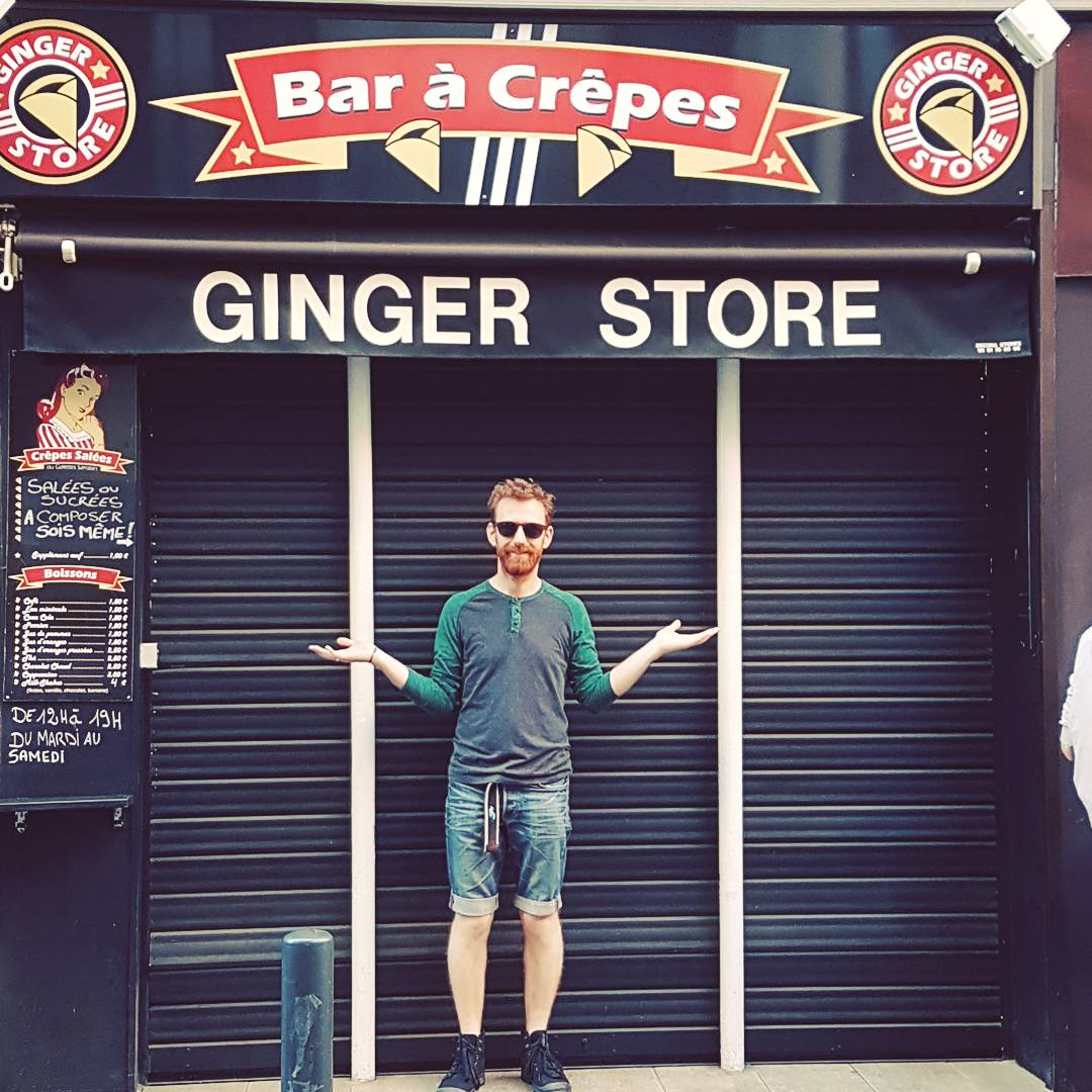 Chris found his birth place... #Toulouse #wheregingersaremade @chrisrankin ♡<br>http://pic.twitter.com/rDtoUH4Hsn