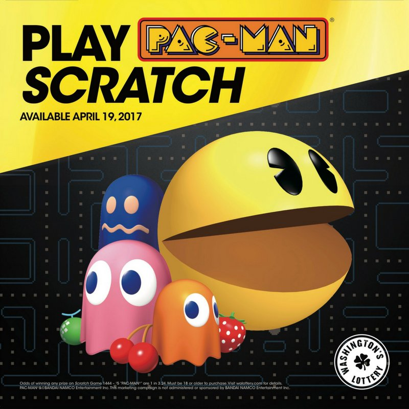 walottery #Pacman #Scratch has arrived! Where is your