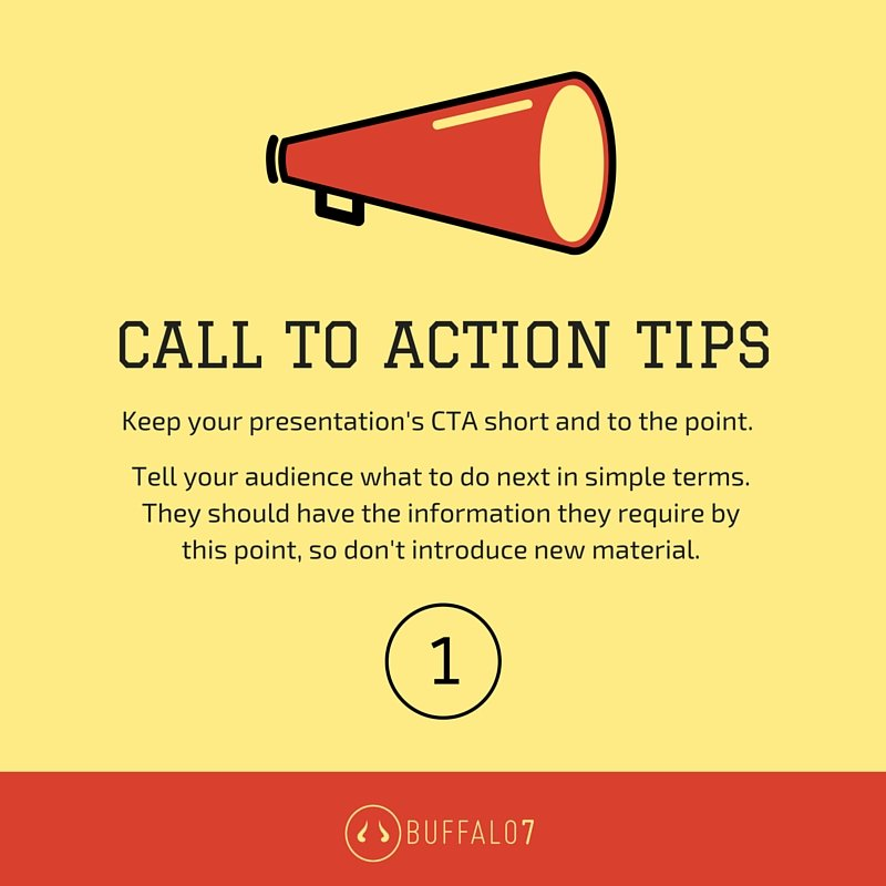 Keep Your #Presentation #CallToAction Short and to the Point. Focus on One Thing.<br>http://pic.twitter.com/bwHcOSOvbd