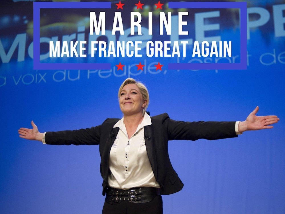 Congratulations #France #MarineLePen took the lead &amp; moves on to the second round! #VivaLaFrance time to celebrate!   http://www. youtube.com.ln.is/dLOLv  &nbsp;  <br>http://pic.twitter.com/MNdUiAgsyl