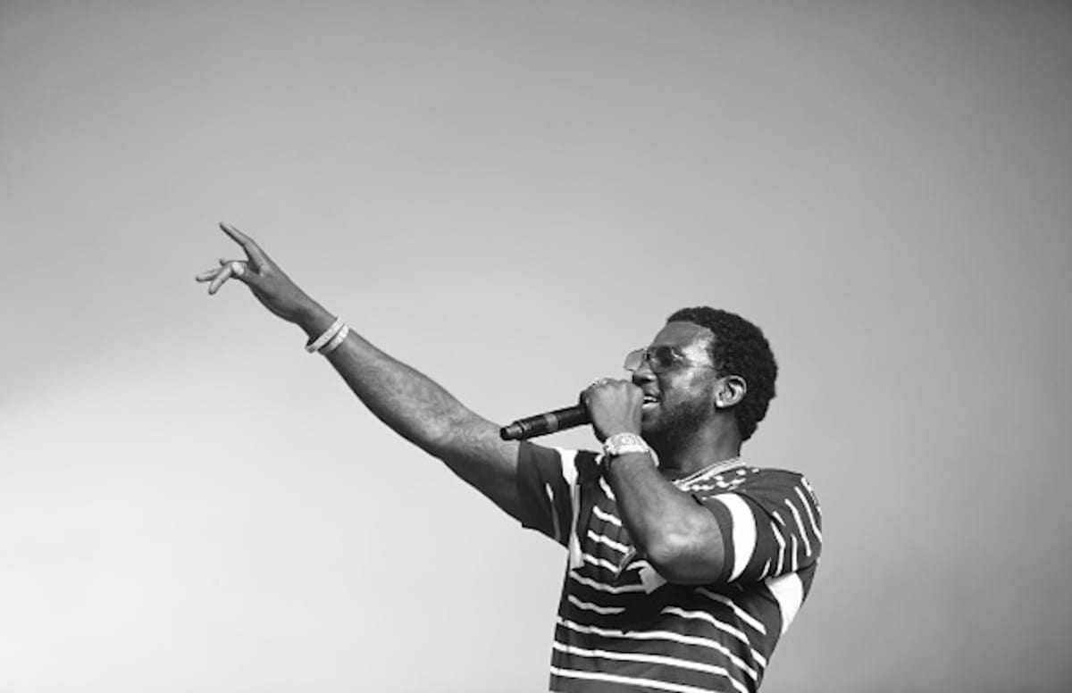 Gucci Mane brought out 50 Cent, ASAP Rocky, and others during his Coachella set.