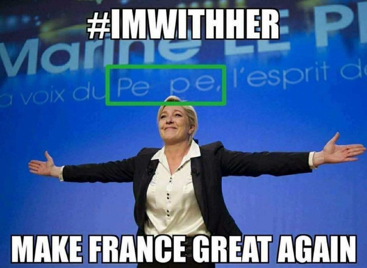 MARINE Le Pen: 25 % Globalist Macron: 21%  9 million votes counted #FrenchElections   #France #ViveLaFrance #ImWithHer #SundayFeeling <br>http://pic.twitter.com/tReUBOxt45