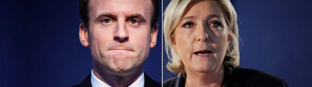 Макрон против Ле Пен