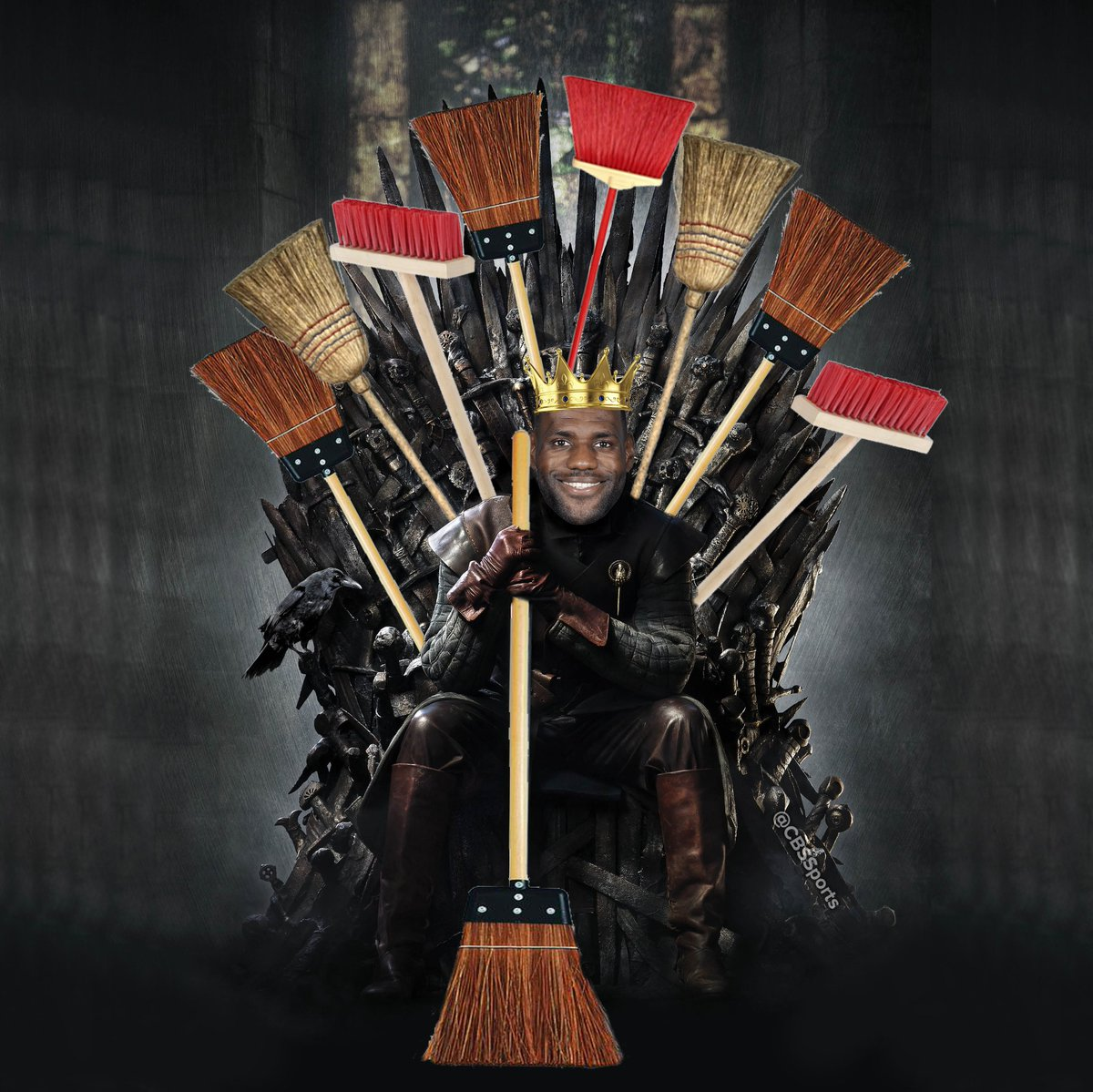 ANOTHER sweep for King James https://t.co/mkxMn4Ol12