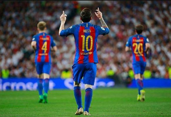 أهداف مباراة كلاسيكو الأرض بين ريال مدريد وبرشلونة