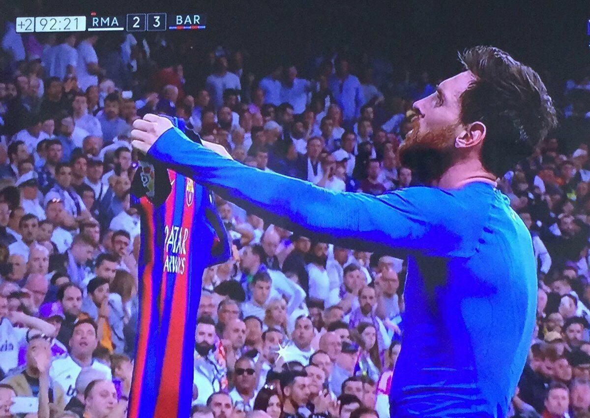 Miradlo bien, que os quede claro; esta es la camiseta del Dios del fútbol. https://t.co/jzoz1wIxnm