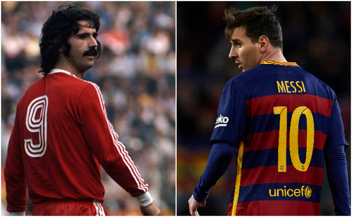 Congratulations to Lionel #Messi for joining our Gerd Müller in the 50...