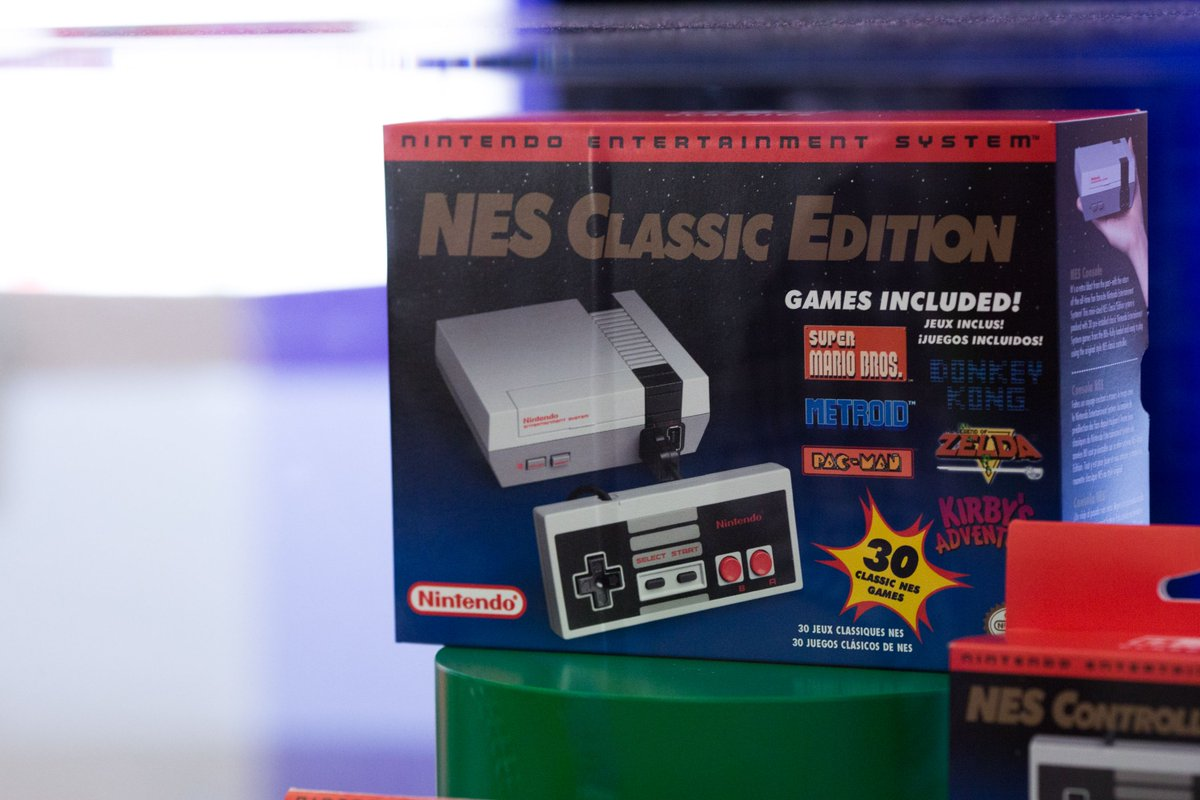 Nintendo's NES Classic will be available at Best Buy stores tomorrow morning https://t.co/Gt3mDNEfUs