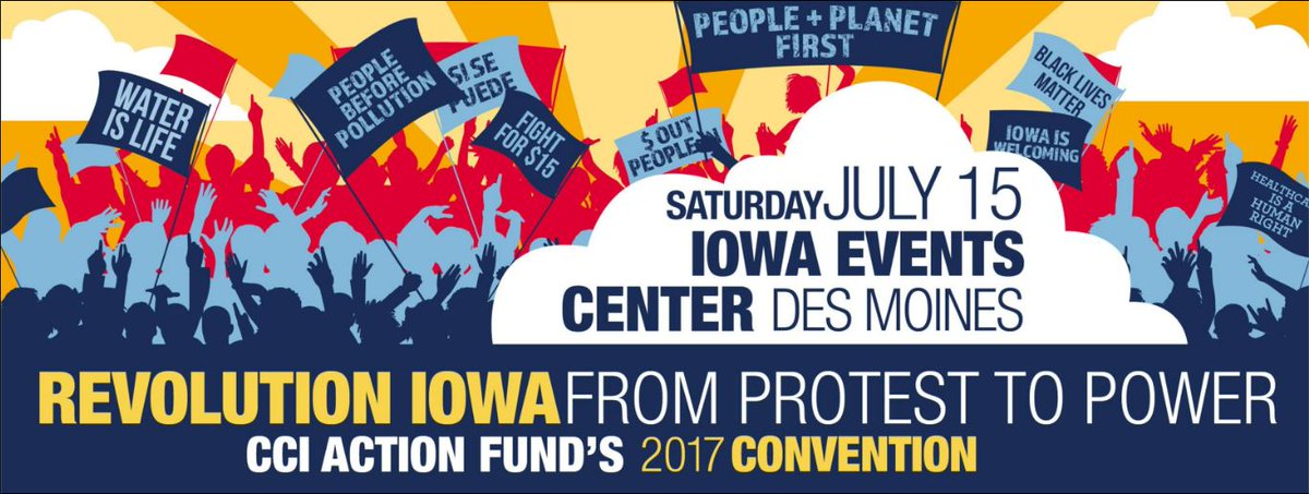 Get fired up for the future of #IA! @SenSanders will be there! Register today:  http:// bit.ly/July15_  &nbsp;    #feelthebern #StateoftheRevolution<br>http://pic.twitter.com/b8YpaVoqKv