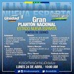 RT @GarcaReinaldo: Mañana TODOS AL PLANTON estos s...