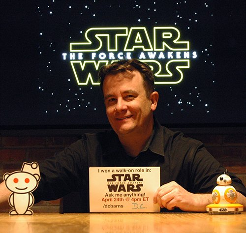 I&#39;m doing a Reddit AMA 4/24 @ 4pmET to chat and answer any questions about my walk-on role in Star Wars: The Force Awakens! @omaze #StarWars <br>http://pic.twitter.com/nxOrPxjixf