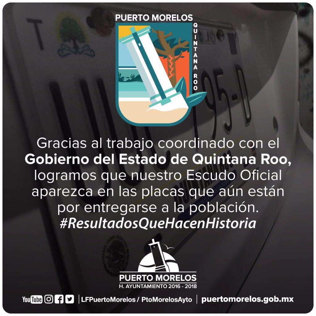 Agradezco al Gob. @CarlosJoaquin y al @GobQuintanaRoo por trabajar de la mano con nuestra administración https://t.co/cjvkR9ZEFa