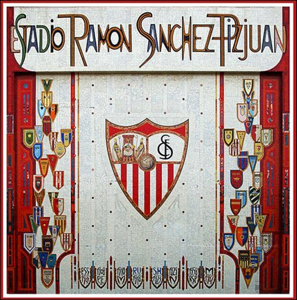 Today marks 35 years since the unveiling of #Sevilla&#39;s famous mosaic at Estadio Ramon Sanchez Pizjuan. Europe&#39;s best stadium front? <br>http://pic.twitter.com/vSZ5zk84Y4