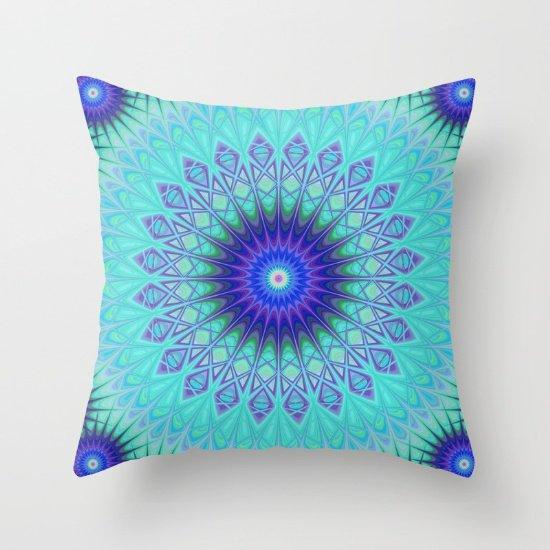 Frozen mandala throw pillow  https:// society6.com/product/frozen -mandala-1b5_pillow?curator=davidzydd &nbsp; …  #winter #home #decor #homedecoration #throwpillow<br>http://pic.twitter.com/wwQlpumBjQ