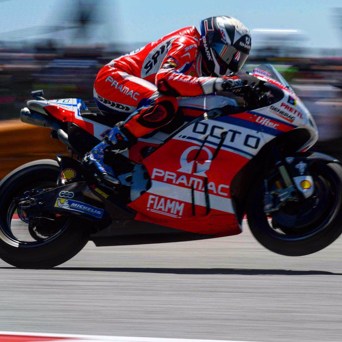Go! @Reddingpower #AmericasGP @MotoGP @pramacracing #speed #bikes #bikers #race #ridetrue @spidiwarrior