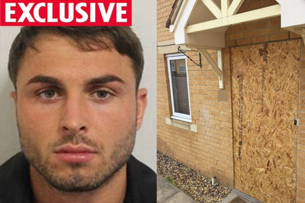 Arthur Collins, 25, of Hertfordshire is arrested in his UNDERPANTS by police in connection with an attack on a nightclub in Dalston