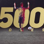 RT @FCBarcelona_es: ⚽️  #Messi500 ⚽️ https://t.co/...