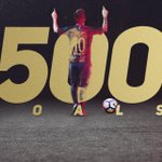 RT @FCBW_A7: ⚽️ #Messi500 ⚽️ https://t.co/r1bXnDce...