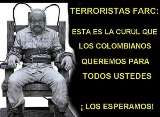 @potus P illegitimate JMSantos,you are dismissed and the agreement with #FARC died with the plebiscite 2 Oct. #NO Colombia Free of Communism <br>http://pic.twitter.com/lGUD0nvBY6