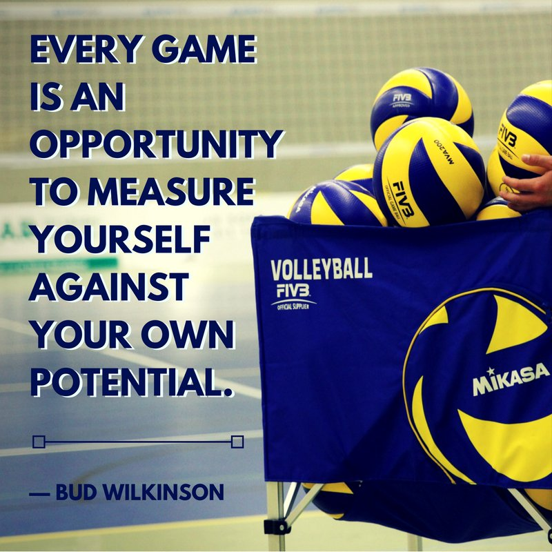 Give it all you&#39;ve got in every game. #Volleyball #Sports<br>http://pic.twitter.com/6gfErfiYme