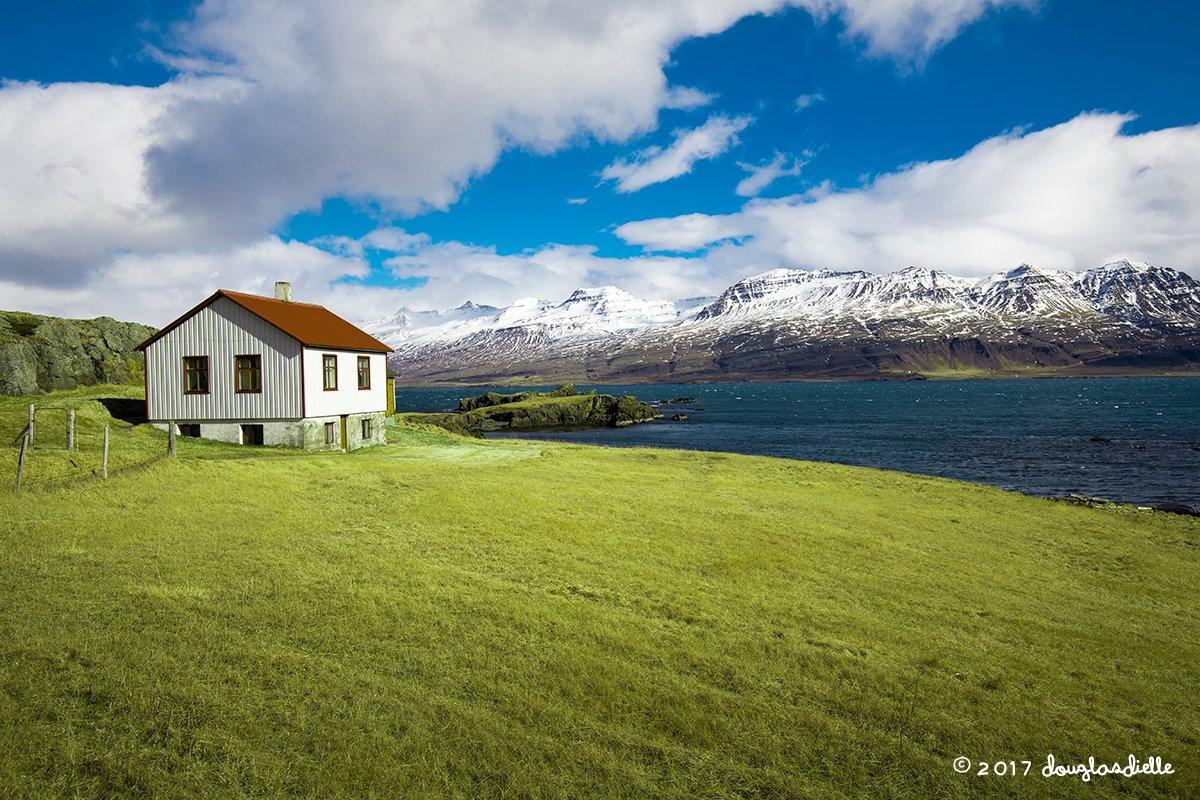 View en route to Egilsstaðir, Iceland