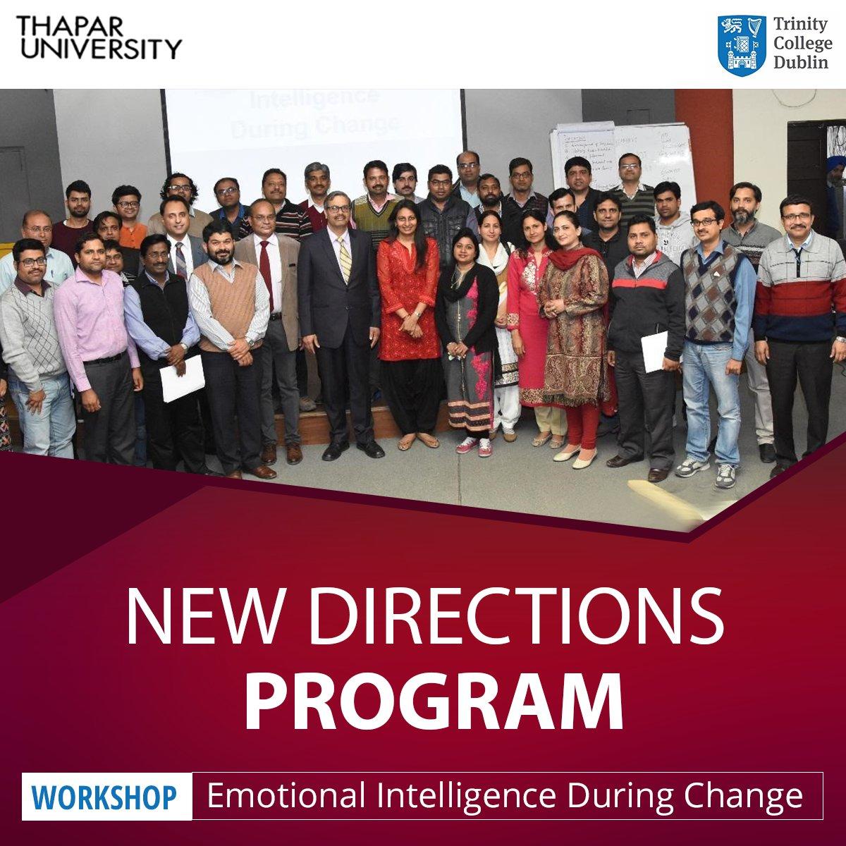 &#39;Emotional Intelligence During Change&#39; #workshop shed light on internal #motivation, #SelfAwareness, #empathy and social #skills.<br>http://pic.twitter.com/6uJVAuLbJq