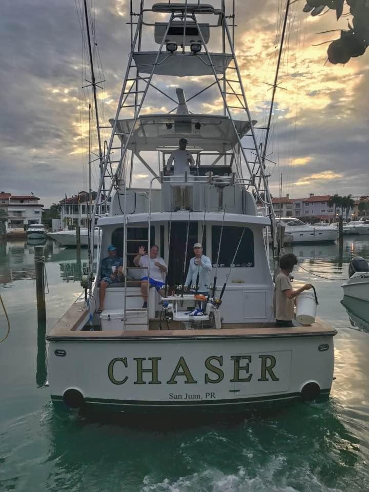 Casa de Campo, DR - Capt. Tim Richardson on Chaser went 2-3 on Blue Marlin.