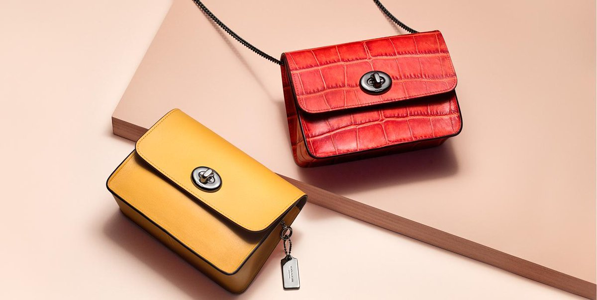 Red or yellow? #CoachSpring2017  https://t.co/iA46QsJ7lO