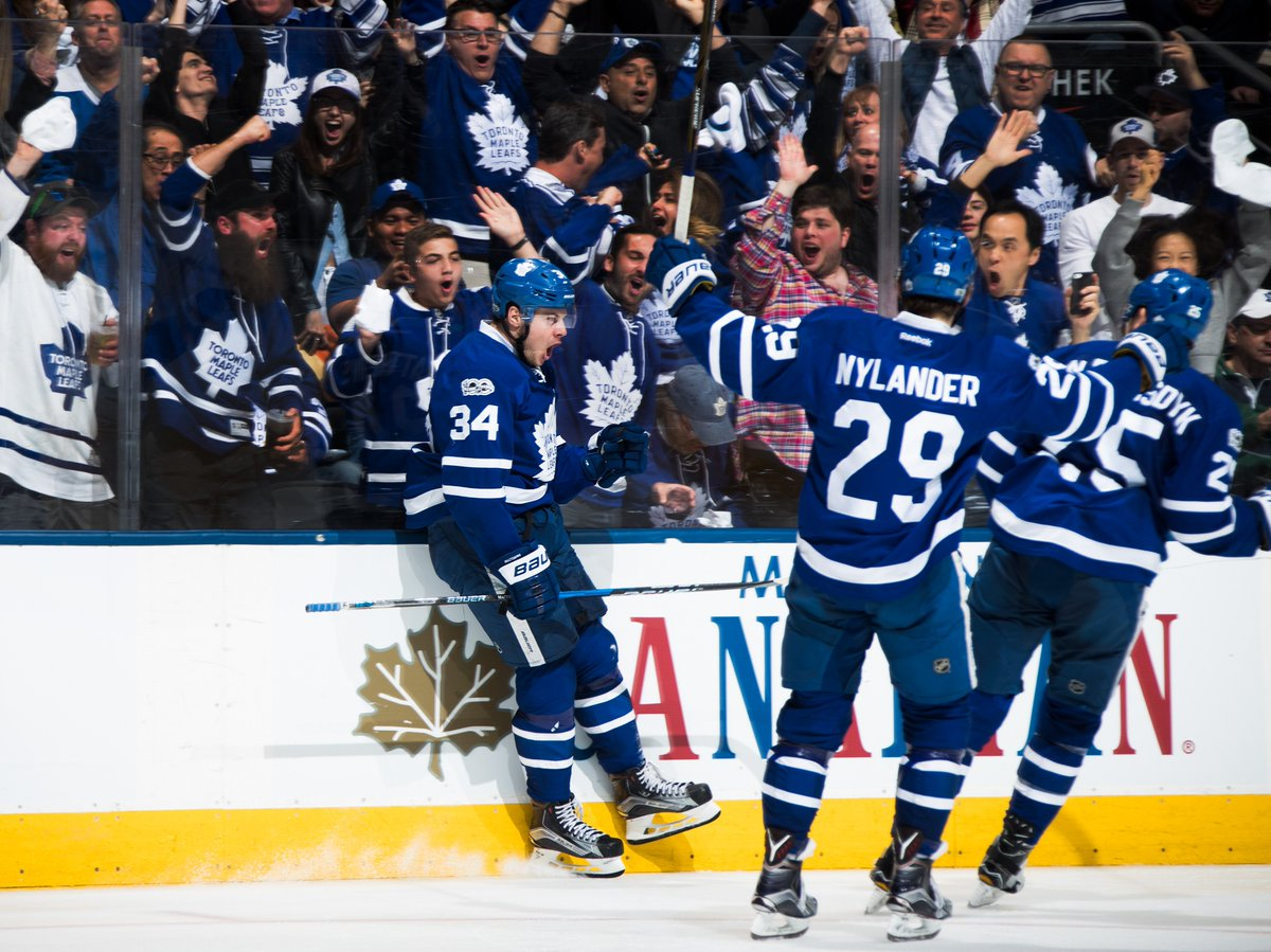 NHL Public Relations On Twitter The MapleLeafs Are Playing Their Fifth Overtime Game In A Series For Second Time Franchise History Also 1951