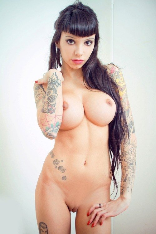 tattoo girls naked