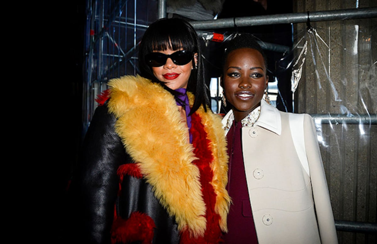 Twitter creates an @IssaRae concept film starring @Rihanna and @Lupita_Nyongo.