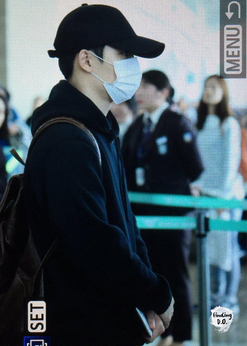 170424 인천공항 #경수 #디오 #kyungsoo