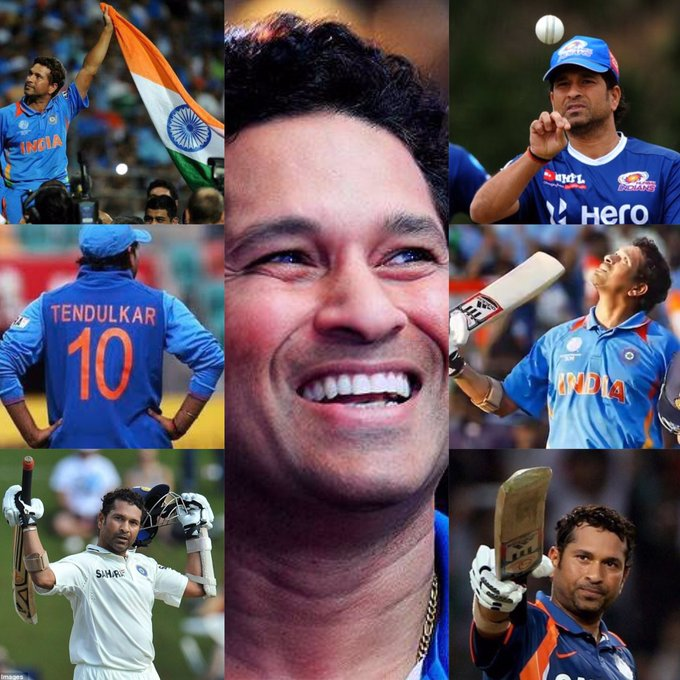 "Happy birthday MyGod Of cricket ""Sachin Tendulkar \"""
