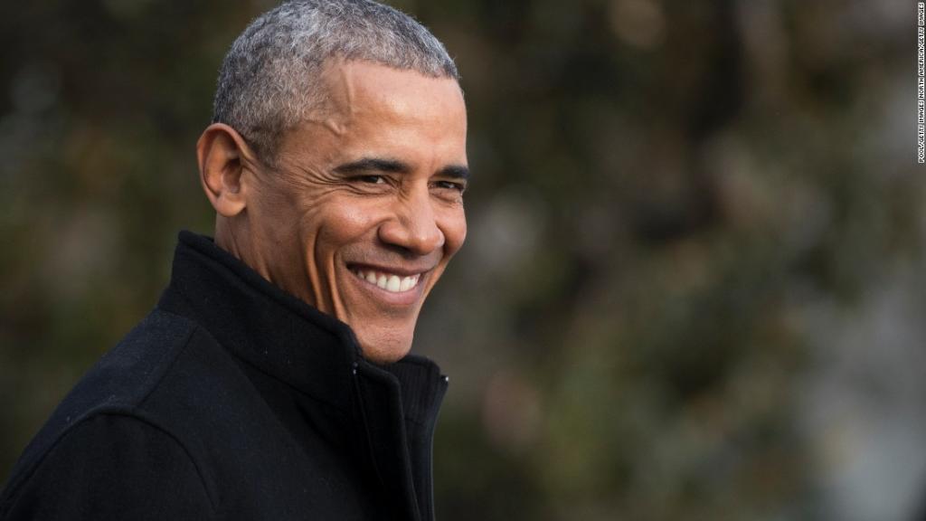 After months of quiet travel, former President Barack Obama will speak...