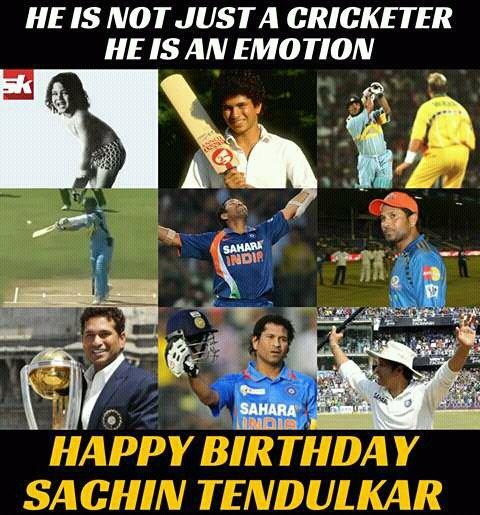 Happy Birthday Sachin Tendulkar!