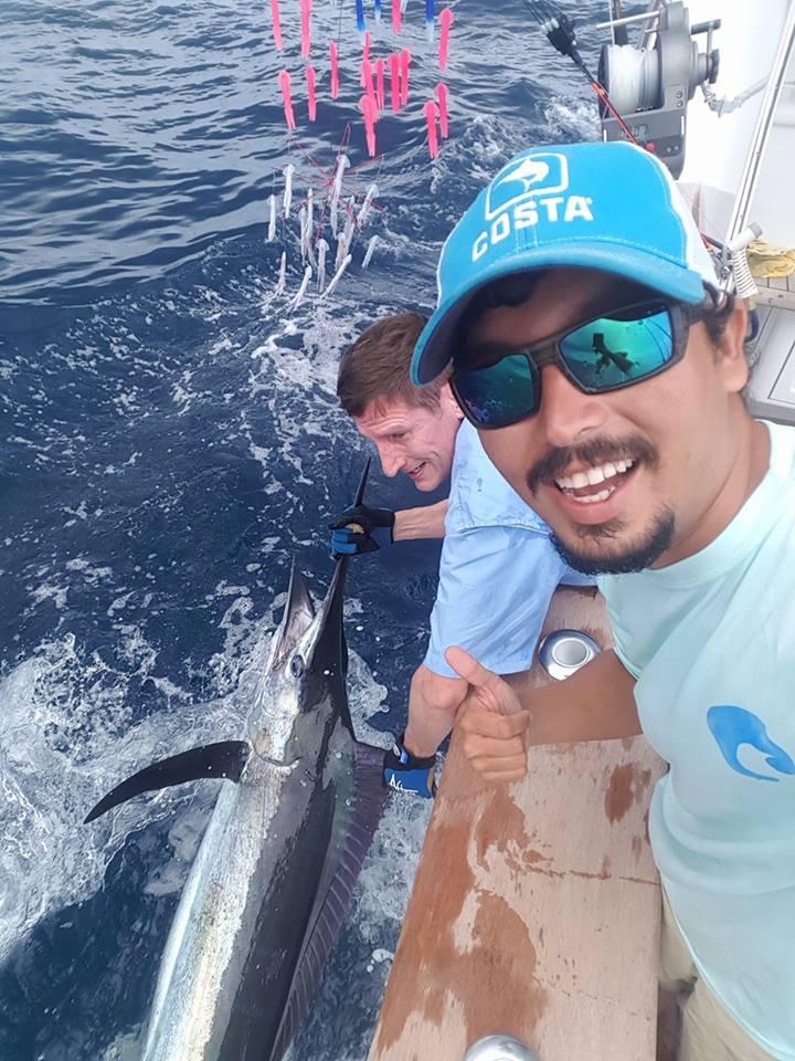Los Suenos, CR - Sea Fly released a Blue Marlin and a Sailfish.