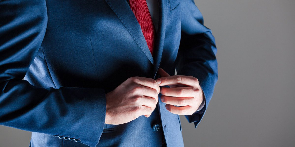 The real reason men don't use the bottom button on their suits https:/...
