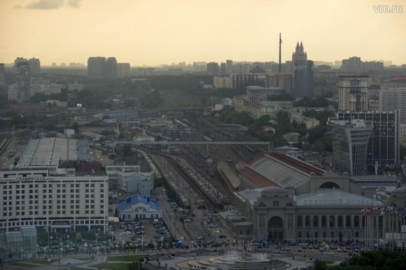 показать на карте вокзалы москвы