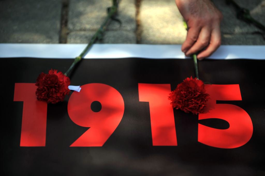 Открытка геноцид армян
