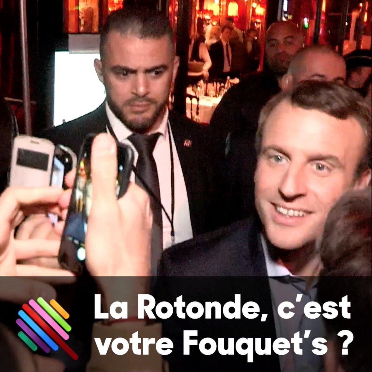 Ce soir, 19h20, #Quotidien : reportage 48 heures avec #Macron.  En voici le bouquet final #Rotonde    https://t.co/cMdmCSo8B1