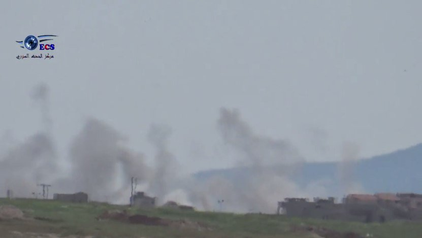 #Syria ll #Hama  #Video: regime warplanes target #Lataminah city in rural north Hama with cluster bombs   https://www. youtube.com/watch?v=iK9neu 8A8f0 &nbsp; … <br>http://pic.twitter.com/zAqubqmy64