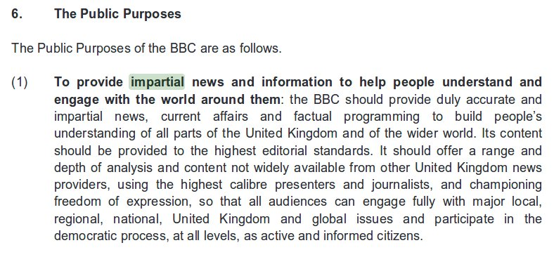 Despite the BBC Charter, @bbclaurak won&#39;t get in trouble for this blatant bias because the #BBC board is STUFFED with Tory apologists. <br>http://pic.twitter.com/7wYoYWYTes